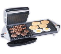 barbecue electrique grille et plancha
